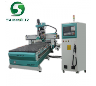 ATC CNC Router with Boring Bits for Panel Furniture