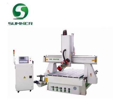 M25BT 4 Axis CNC Router 180 degree waving